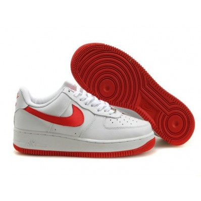 air force 1 rouge et blanche