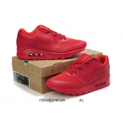 air max 90 rouge fluo