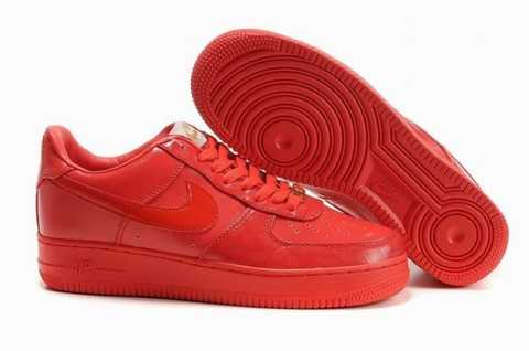 air force 1 femme rouge