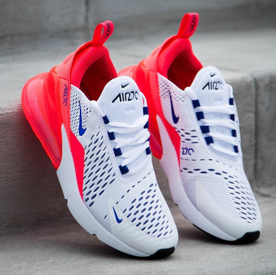 air max 270 rouge et blanche