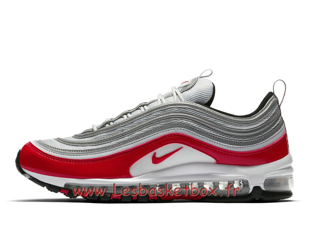 air max 97 grise rouge
